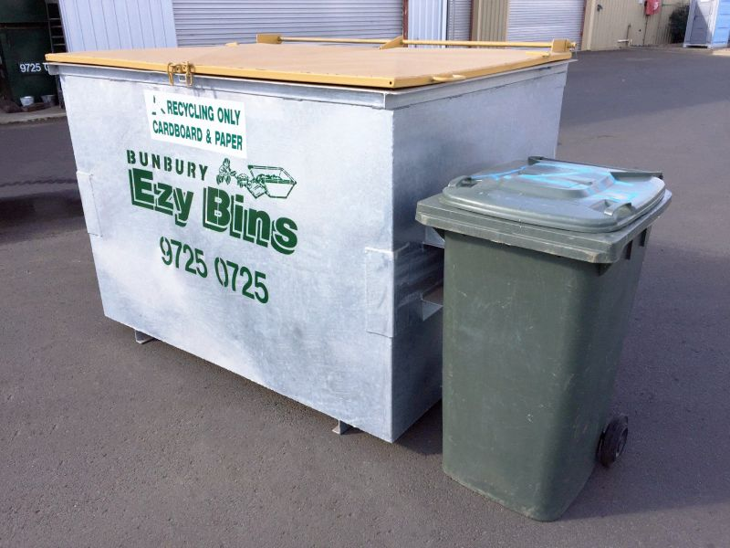 Front Lift Bin for Recycling